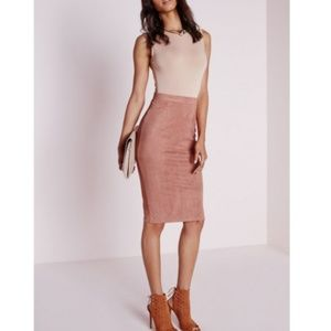 NWT ASOS | Faux Suede Skirt